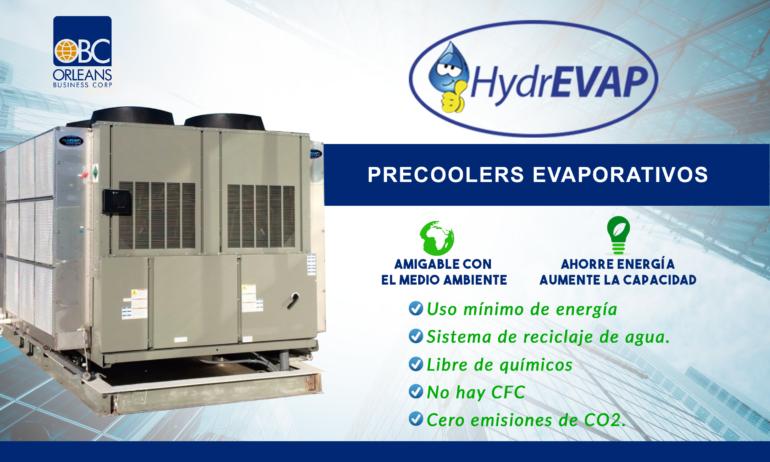 Precoolers Instalados en American Industrial Park de El Salvador.