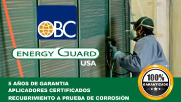 Aplicación de Recubrimiento Anticorrosivo Energy Guard USA en Aeropuerto de Roatán